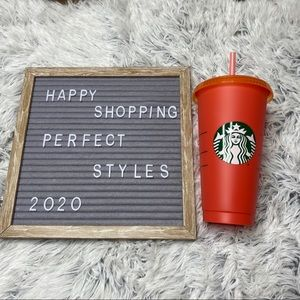 Starbucks Color Changing Tomato Single Cup